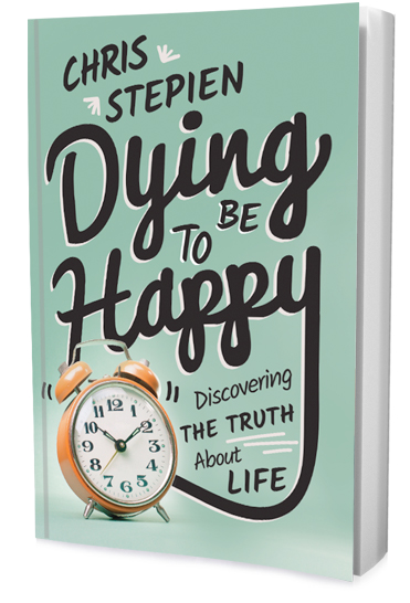 Dying to Be Happy: Discovering the Truth About Life by Chris Stepien. In the pages of this book, a brush with a life-threatening disease sparks a frank discussion on mortality. The author explores the prospects of embracing death on a daily basis versus denying it. He encourages readers to follow the advice of Jesus Christ: always be ready for the end of life. Along the way, Stepien highlights a spectrum of short, true stories where people rise above the fear of death, including the harrowing account of a child who survived the Holocaust, Stepien's own mother.