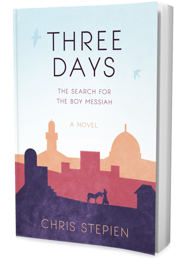 Three Days: The Search for the Boy Messiah by Chris Stepien. This Biblical novel is a compelling tale about 12-year-old Jesus, based on the second chapter of Luke's Gospel. This book will grip your imagination—as you explore the Temple and experience the drama of ancient Hebrew traditions with the boy Messiah. It's a story for the child in all of us.